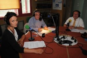 de gauche à droite : Anna Castelnuovo, Alain Lançon, Jean-Marc Canova